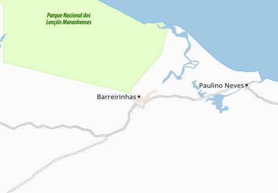 Mapas-Planos Barreirinhas