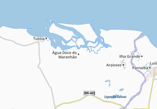 Carte-Plan Água Doce do Maranhão