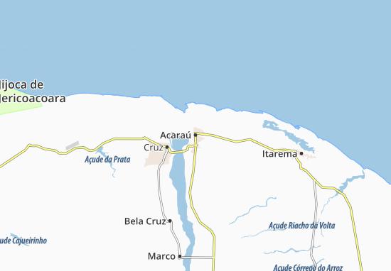 Carte-Plan Acaraú