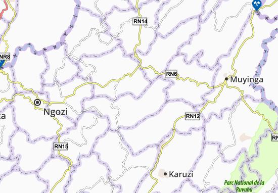 Mapa Plano Birambi