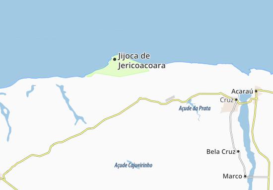 Jijoca de Jericoacoara Map