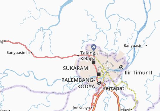 Talang Kelapa Map