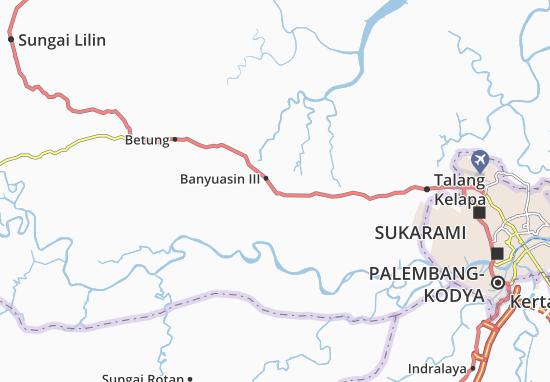 Mappe-Piantine Banyuasin III