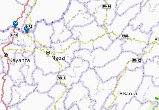 Kaart Plattegrond Tangara