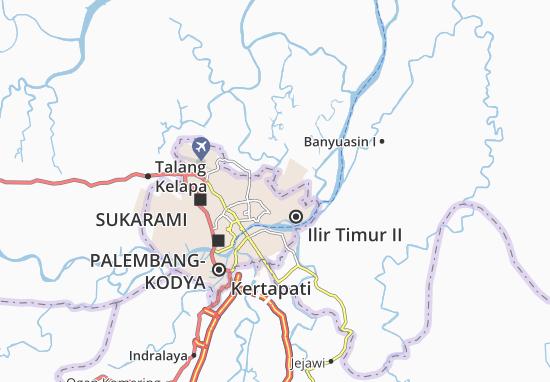 Kaart Plattegrond Sako