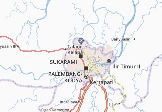 Kaart Plattegrond Sukarami