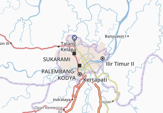 Carte-Plan Alang-Alang Lebar