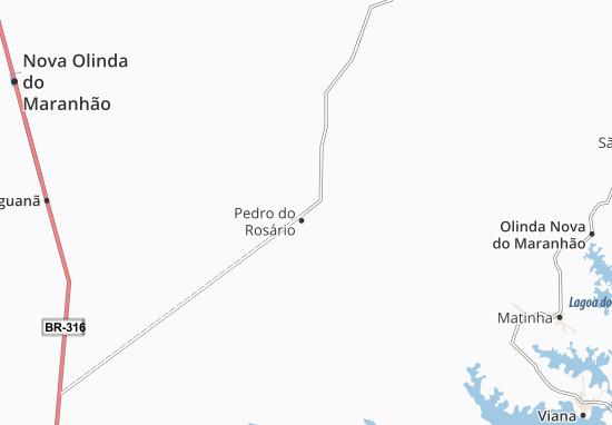 Carte-Plan Pedro do Rosário