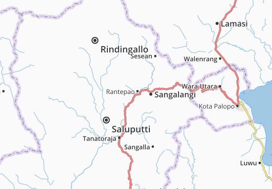 Rantepao Map