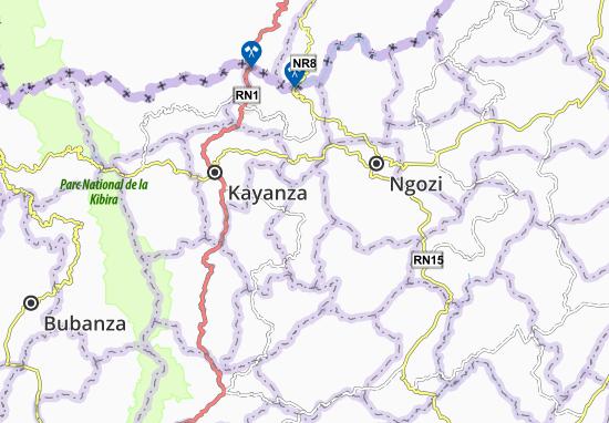 Mapa Plano Gahombo