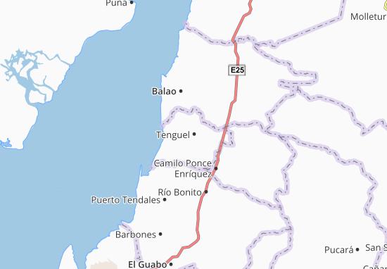 Tenguel Map
