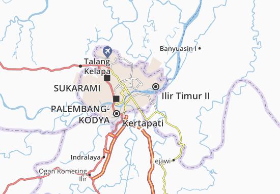 Mappe-Piantine Seberang Ulu II