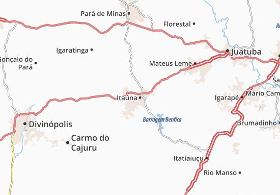Itaúna Map