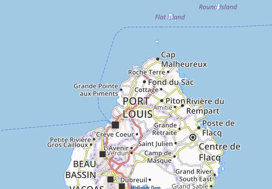 Carte-Plan Morcellement Saint Andre