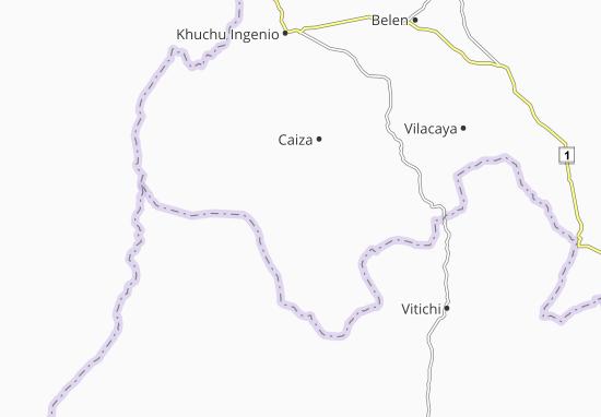Comunidad Kestuche Map