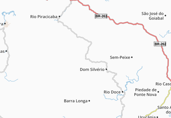 Carte-Plan Alvinópolis