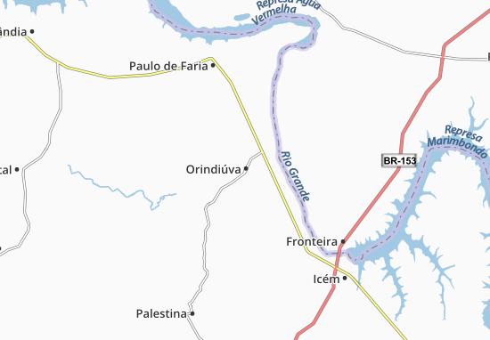 Carte-Plan Orindiúva
