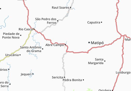 Carte-Plan Abre Campo