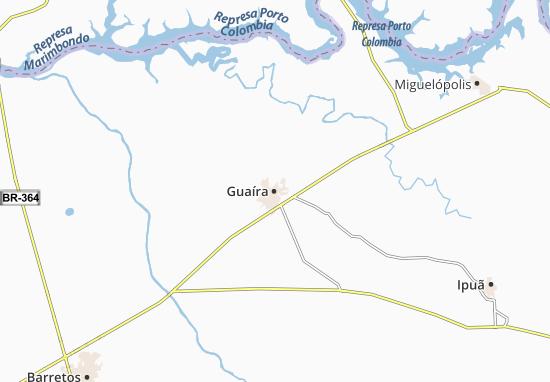 Kaart Plattegrond Guaíra
