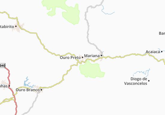 Mapas-Planos Ouro Preto