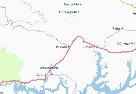 Carte-Plan Piumhi