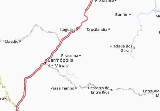 Carte-Plan Piracema