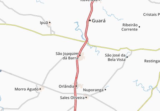 Mapas-Planos São Joaquim da Barra
