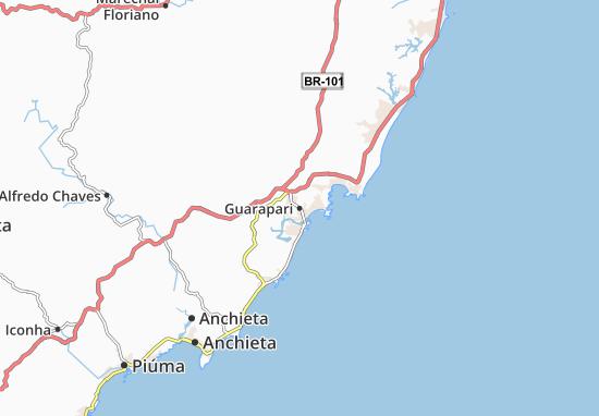 Mapas-Planos Guarapari