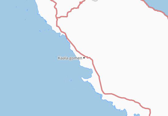 Kaala-gomen Map