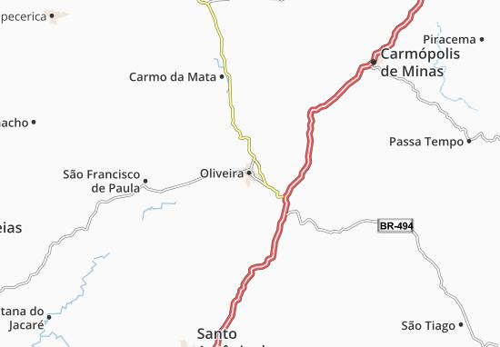 Carte-Plan Oliveira