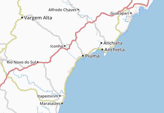 Carte-Plan Piúma