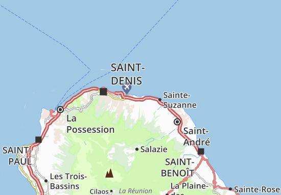 Sainte-Marie Map