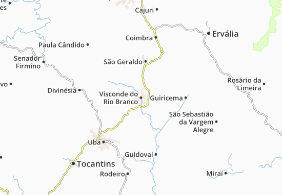 Mappe-Piantine Visconde do Rio Branco