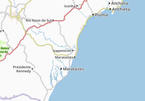 Itapemirim Map