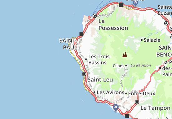 Carte-Plan Les Trois-Bassins