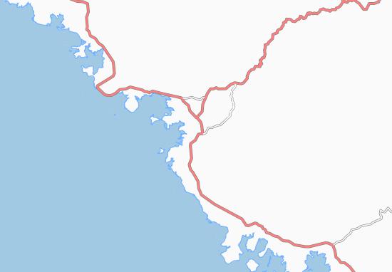 Carte-Plan Pouembout