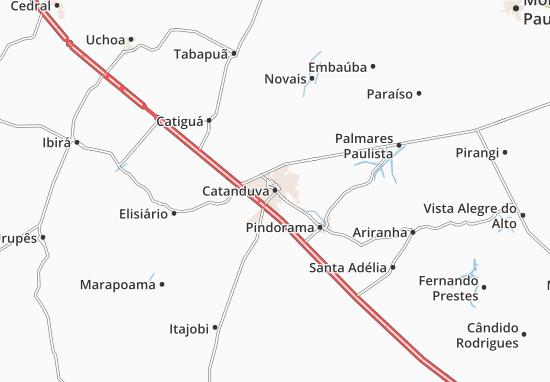 Catanduva Map