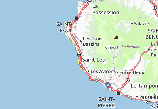 Saint-Leu Map
