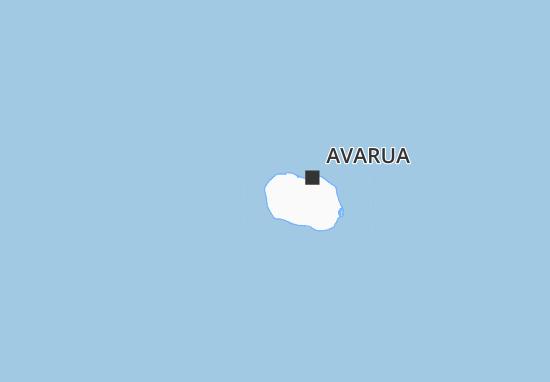 Kaart Plattegrond Arorangi