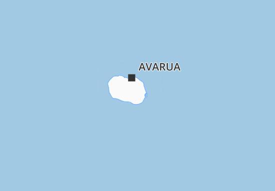 Mapas-Planos Rarotonga