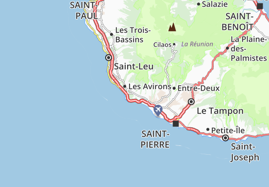 L'Étang-Salé Map