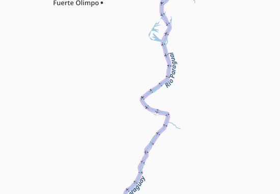 Puerto Guarani Map