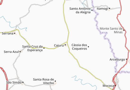 Mapas-Planos Cajuru