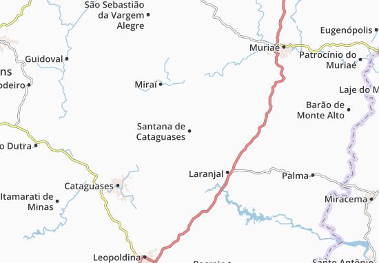Mappe-Piantine Santana de Cataguases