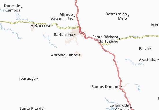 Carte-Plan Antônio Carlos
