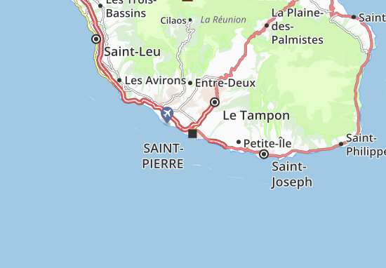 Mapa Plano Saint-Pierre