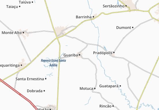 Mapas-Planos Guariba