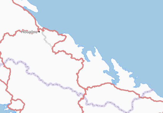 Carte-Plan Kouaoua