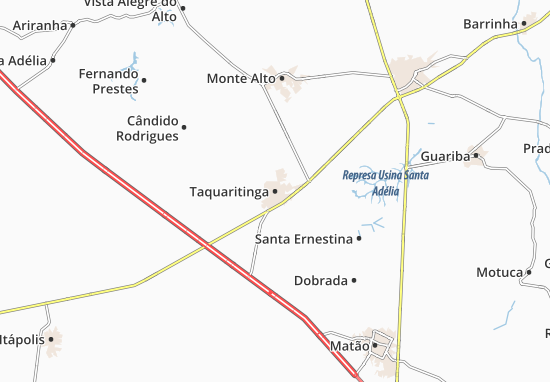 Mapas-Planos Taquaritinga