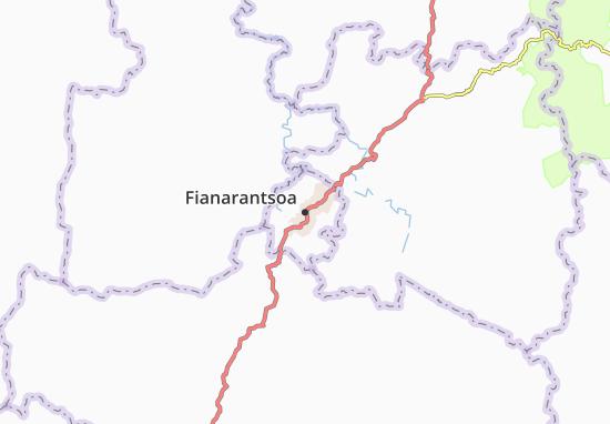 Carte-Plan Fianarantsoa